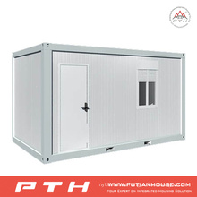 Flat Pack Container House for Temprory Dorms, Classrooms