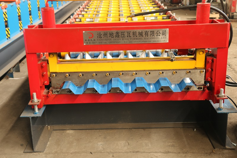 Equipment Trapezoidal Panel Sheet Tile making machine