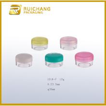 Pot cosmétique plastique