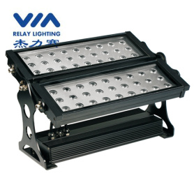 54w outside rgb led flood light ip65