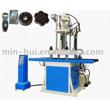 Machine de moulage par injection plastique verticale