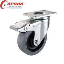 3inches Medium Duty Caster with Anti-Static Wheel and Total Brake