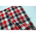 Tissu coloré en t / c teint en tricot