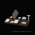 New Fashion Linen Jewelry Display Stand Countertop Wholesale (WST-LW2)