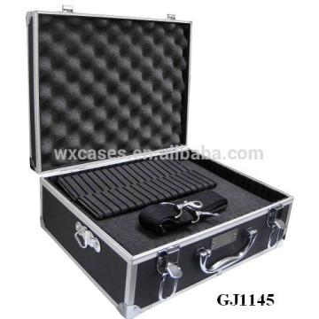 сильный и портативных алюминиевых инструмент груди с съемным кубиками пены внутри