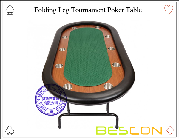 Folding Leg Tournament Poker Table-3