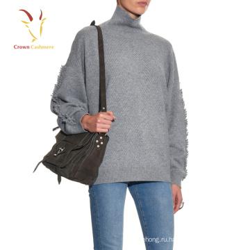 Зима Новый Женская Мода Ручной Работы Шерстяной Свитер Дизайн Свитер Крючком
