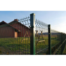 Galvanized / Powder Coating Welded Steel Fence with High Quality