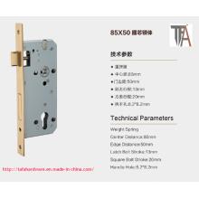 85 * 50 material de hierro para el cuerpo de la cerradura de la puerta