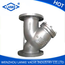 Ss316 Flanged End Filter Acero inoxidable Y Type Strainer