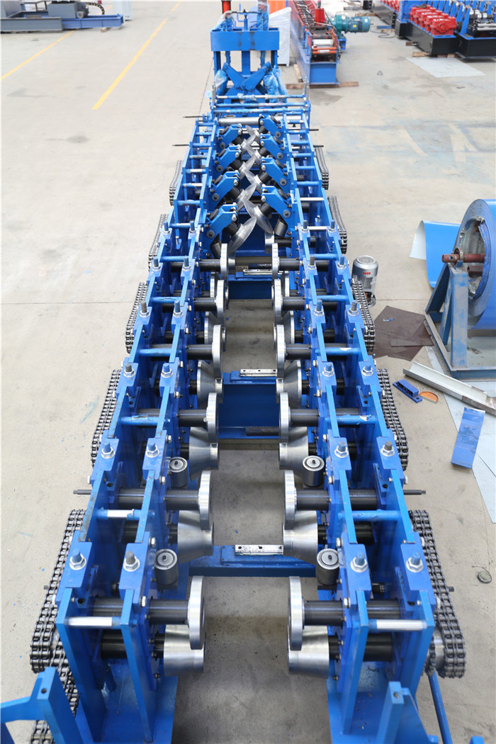 CZ Purlin Channel Roll Forming Membuat Mesin