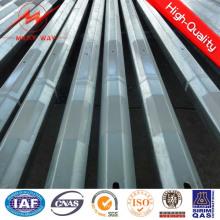 12m 500dan-1500dan Stahlmasten Sicherheitsfaktor 2.1 oder mehr