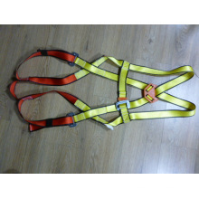 Yellow/Red Color Full Body Harness with CE
