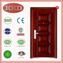 Hochwertiger Stahl Sicherheit Tür KKD-336 eröffnet, nach innen oder nach außen