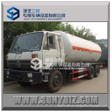 20000-24000L 6X4 Dongfeng Cummins 210HP LPG camión de gas LPG tanque móvil