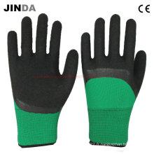 Gants de sécurité de travail revêtus de mousse (LH305)