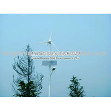 Qingdao fournisseur mini turbine/vent puissance éolienne 200W