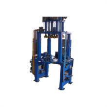 Equipo de fundición de baja presión de aleación de aluminio
