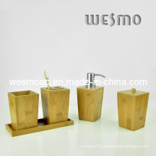 Carbonized Bamboo Bathroom Accessory (WBB0456A)