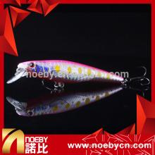 NBL9438 90 milímetros minnow isca de pesca pesada isca suspendendo iscas