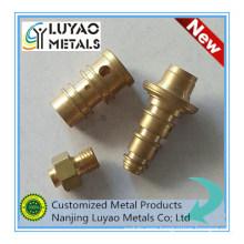 Brass Fittings Made by CNC Machining