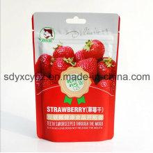 SGS genehmigte und stehen oben Ziplock Trockenfrucht-Nahrungsmittelbeutel mit Handhole