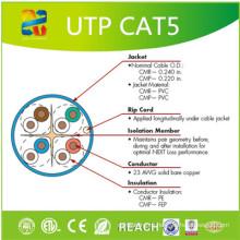 Фабрики Китая кабель LAN Категория 5е кабель cat5e