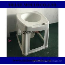 Molde de asiento de inodoro portátil de plástico