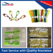 Alta qualidade bonito plástico luvas clipe de segurança