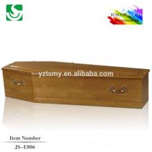 higtly gloss wooden coffin for wholesale