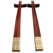 Gilt wooden chopsticks