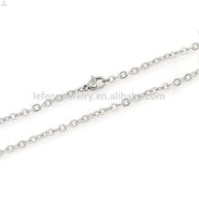 nom de collier de chaîne de collier de l'acier inoxydable 18kg, chaîne en vrac de collier en métal