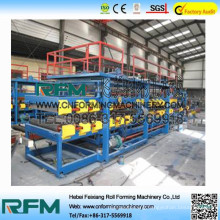 FX prefabricated steel frame house used sandwich panel machine