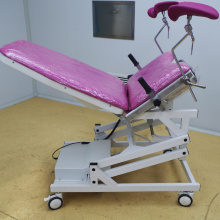 Hospital Gynecology Examination Room Bed