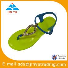 2014 pvc designer jelly shoes