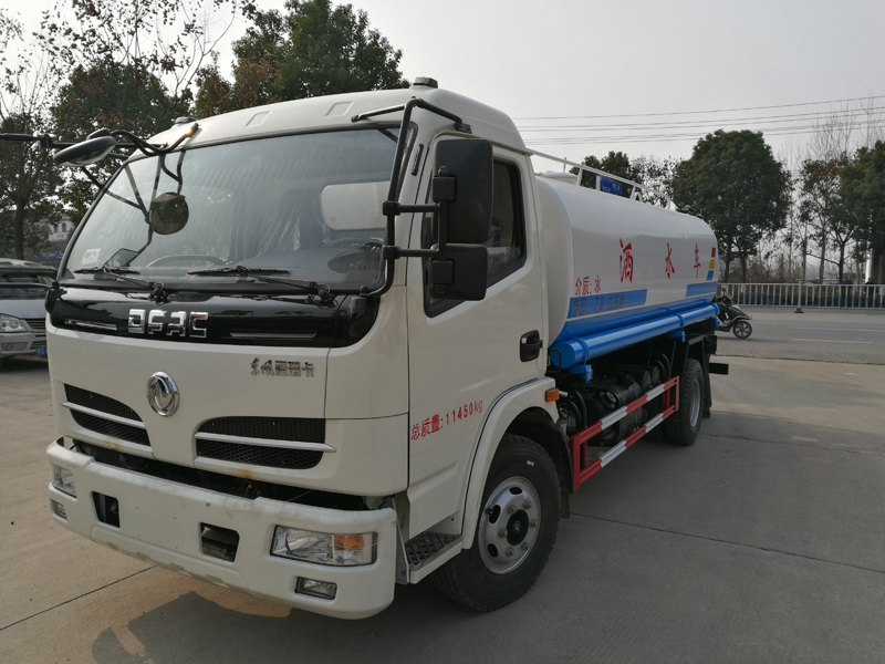 truck mounted water tank stainless steel water truck