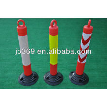 High quality PU flexible spring warning post