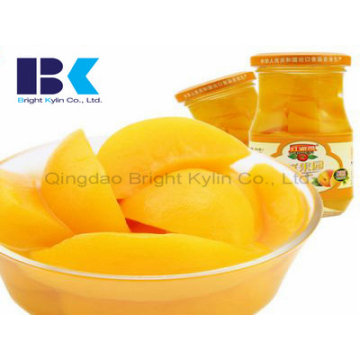 Healthy, Delicious Canned Yellow Peach in Syrup