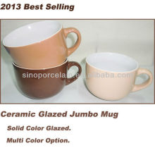 2013 Best Selling Ceramic Glazed Jumbo Mug For BS130515C