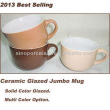 2013 самая лучшая продавая керамическая застекленная кружка Jumbo для BS130515C