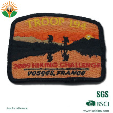 Factory Supply Customized Woven Patch with Logo for Promotion