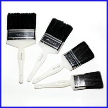 Black Bristle Plastic Handle Paint Brush