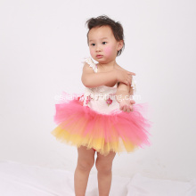 Nuevo diseño Little Kids Beautiful Model Dresses