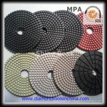 Almohadillas pulidoras de diamante para pisos de concreto de mármol de granito