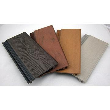 El panel de pared exterior hace por el material compuesto plástico de madera (WPC)