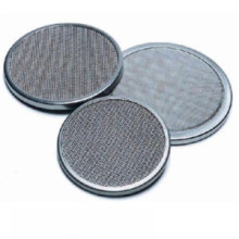Cover Edge Stainless Steel Wire Mesh Filter Disc