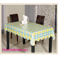 PVC Table Cloth with Flannel Backing for Banquet