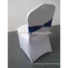 Capas de cadeira de spandex branco barato