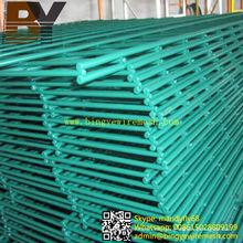 Panel de malla de alambre doble recubierto de PVC
