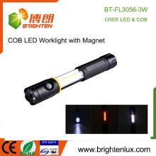 Alibaba Hot Sale Portable Emergency Work Light 3 en 1 Alimenté Multifonction 3watt Cob led flash light avec magnétique